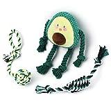 Toozey Welpenspielzeug Hundespielzeug Avocado - 3 Stk Hundespielzeug Unzerstörbar...