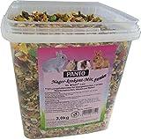 Panto Nagerfutter, Nager-Krokant-Mix Premium 3 kg, 1er Pack (1 x 3 kg)
