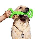 Robustes Hundespielzeug 13 Inch Knochen geformt Kauspielzeug aus Hartgummi mit...