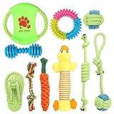 Wishstar Welpenspielzeug, Hundespielzeug Set, 10pcs Langlebiges Welpen Spielzeug für...