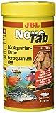 JBL NovoTab Alleinfutter für fleischfressende Aquarienfische, Tabletten 250 ml,...