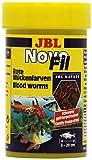 JBL NovoFil 30260, Ergänzungsfutter für wählerische Aquarienfische, Rote...