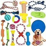 McNory Hundespielzeug Set,Hundeseile, interaktives Pet Rope Spielzeug, Hergestellt...