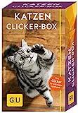 Katzen Clicker-Box gelb 12 x 3,5 cm: Plus Clicker für sofortigen Spielspaß (GU...
