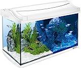 Tetra AquaArt LED Aquarium-Komplett-Set, 60 Liter weiß (inklusive LED-Beleuchtung,...