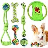 ACE2ACE Welpenspielzeug Set, Hundespielzeug Kauspielzeug Hundeseil, Spielzeug für...