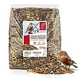 wildtier herz I Vogeltraum Vitalmix Brutzeitfutter - Premium Insekten Vogelfutter,...